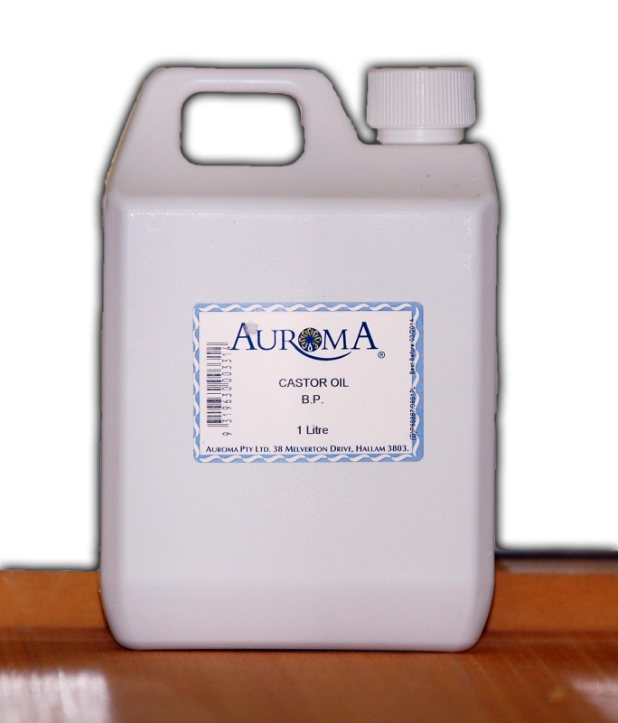 Auroma Castor Oil BP - 1 Litre - Steps to Life Australia
