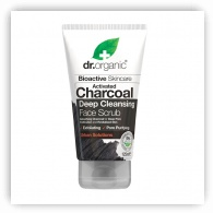 Dr Organic Charcoal Face Scrub 125ml
